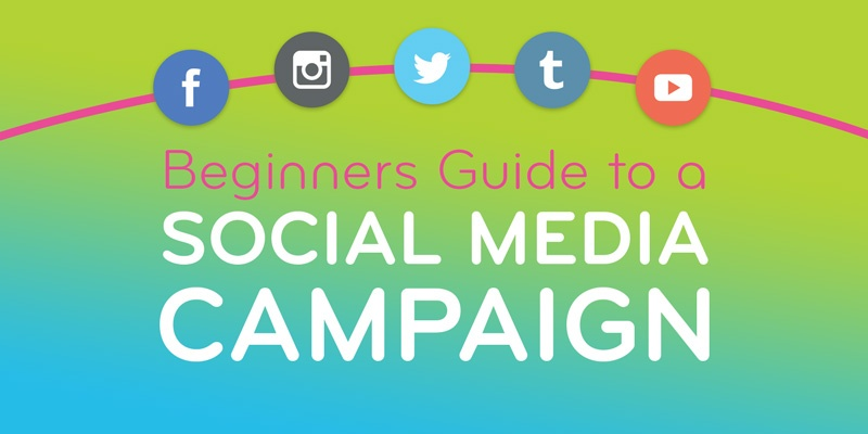 Beginners Guide to a Social Media Campaign graphic