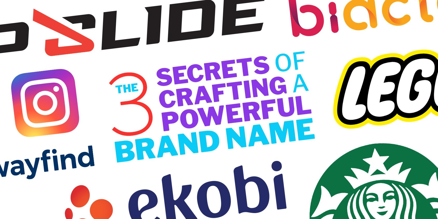 The 3 Secrets of Crafting a Powerful Brand Name